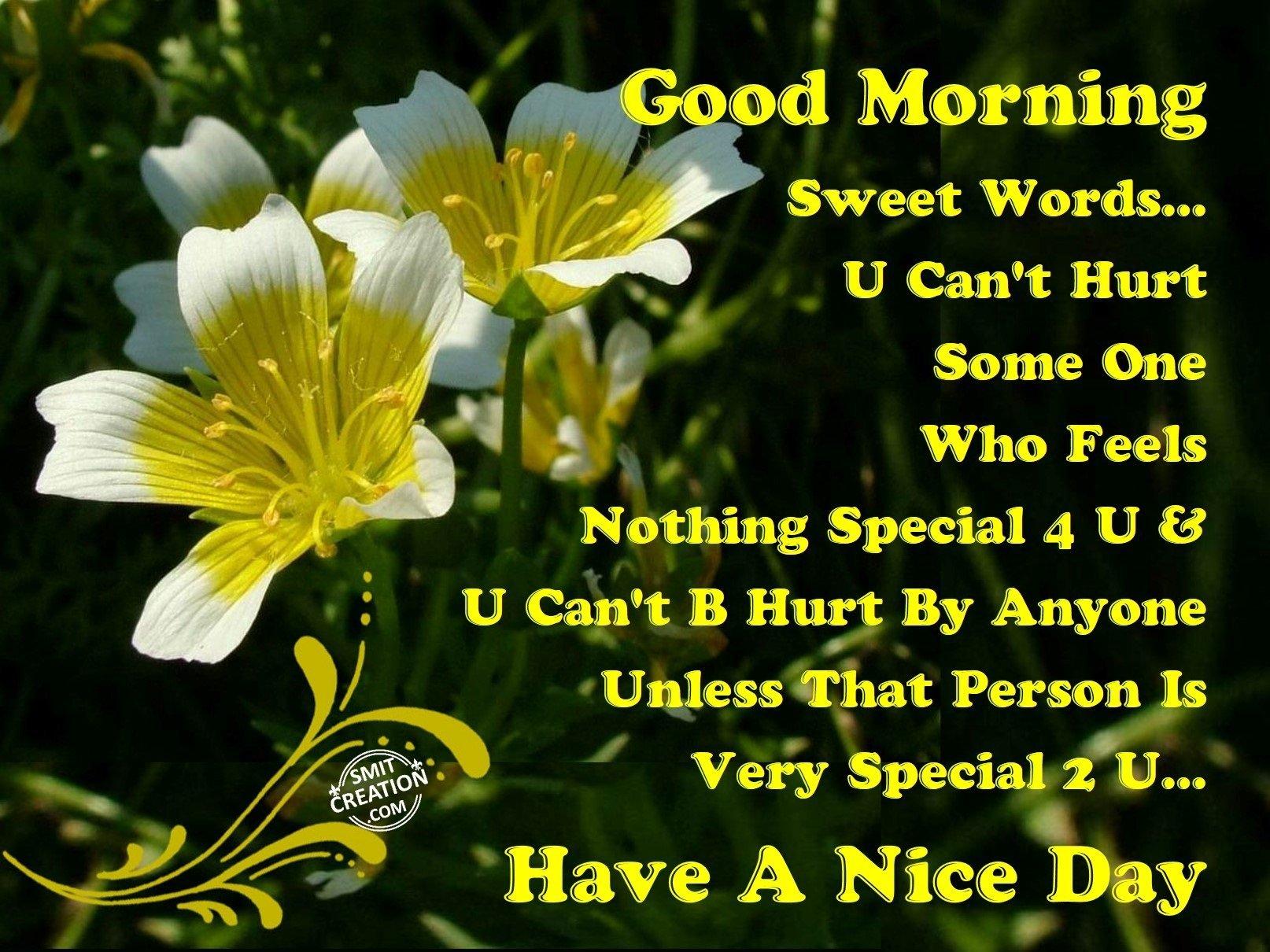 Good Morning – Have A Nice Day - SmitCreation.com