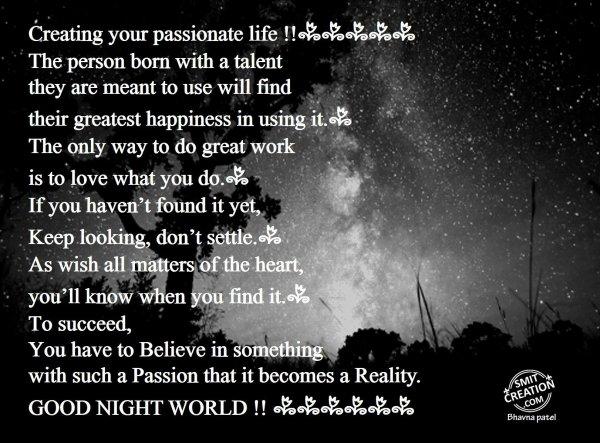 GOOD NIGHT WORLD!!