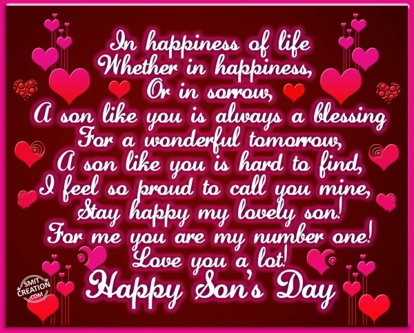Happy Son's Day