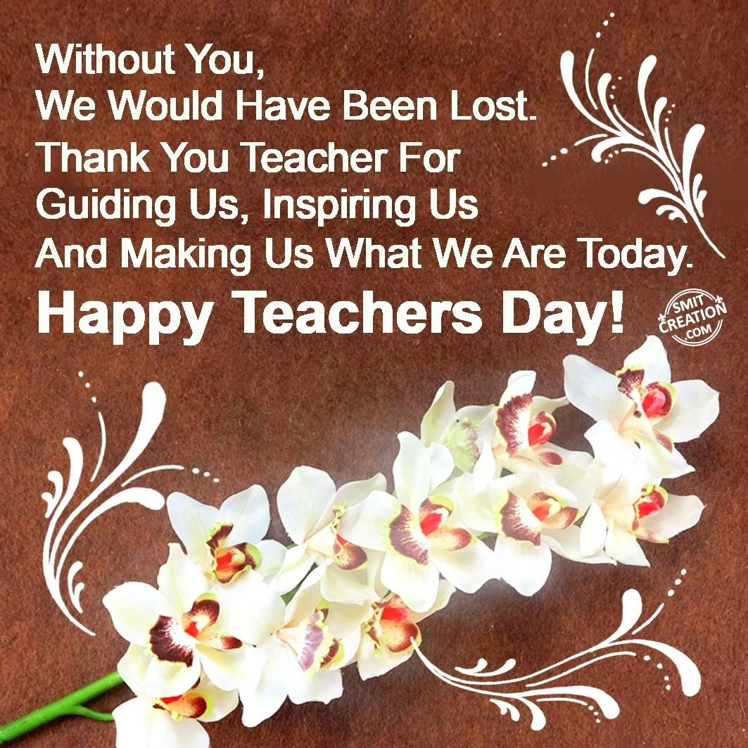 Happy Teacher's Day - SmitCreation.com