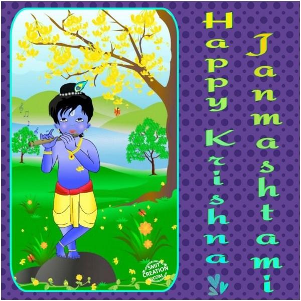 Happy Krishna Janmashtmi