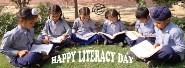 HAPPY LITERACY DAY – FB COVER