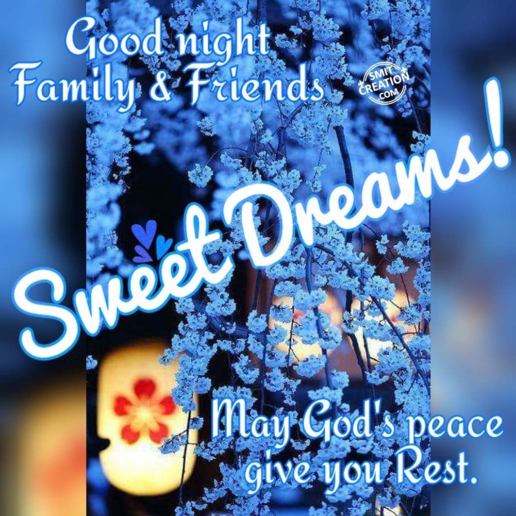 Good Night Family Friends Smitcreationcom