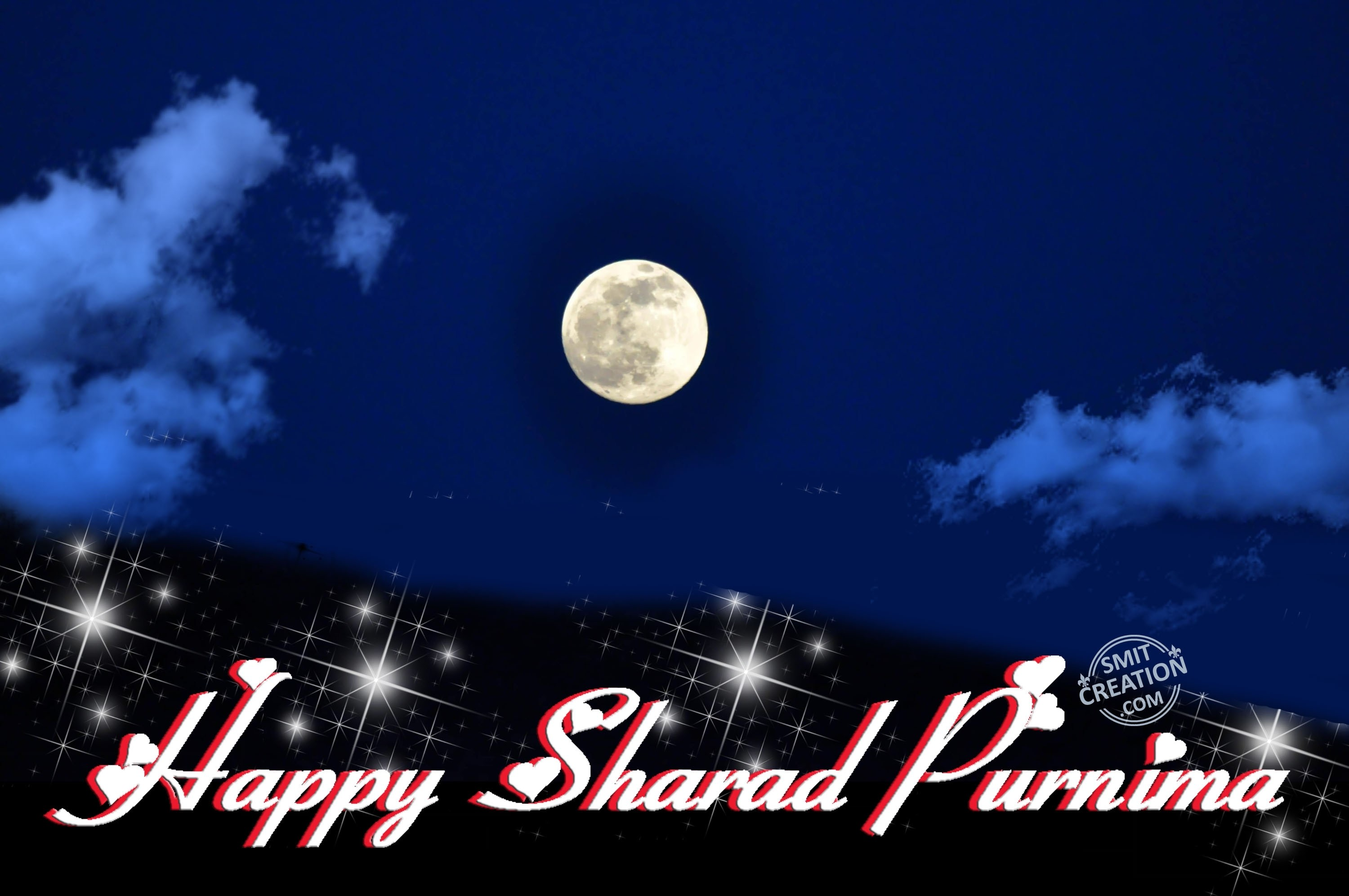 HAPPY SHARAD PURNIMA - SmitCreation.com