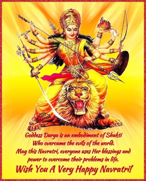 Wish You A Very Happy Navratri!