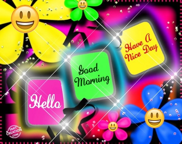 Hello…Good Morning…Have A Nice Day…