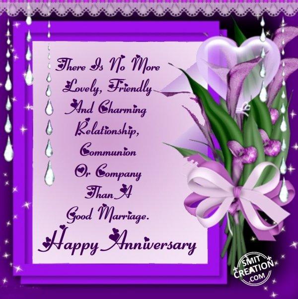 Happy Wedding Anniversay