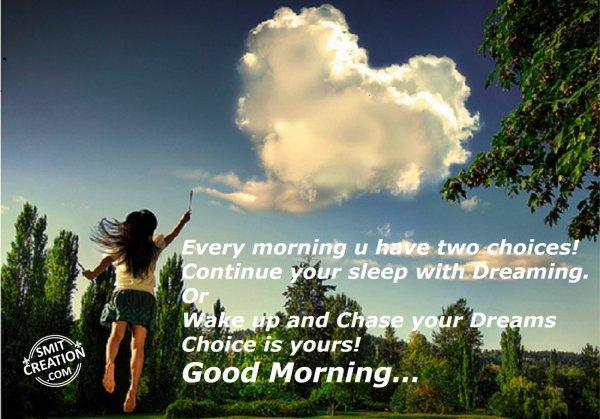 Good Morning..