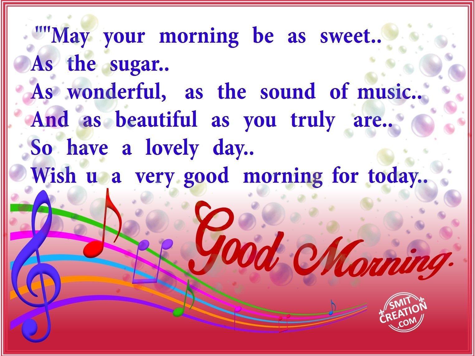 Good Morning Smitcreationcom