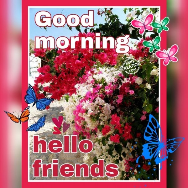 GOOD MORNING – HELLO FRIENDS