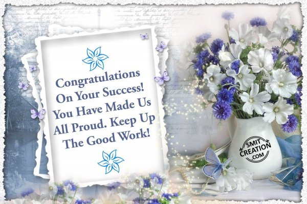Congrtulations!