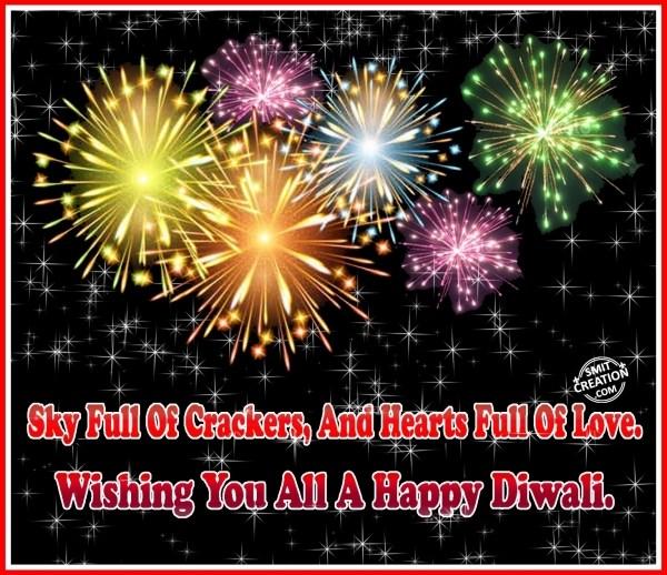 Wishing You All A Happy Diwali.