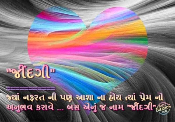 ZINDGI Prem No Anubhav Karave