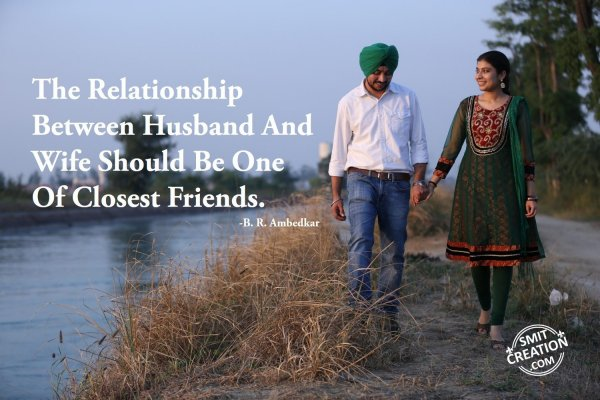 The Relationship Between Husband And Wife….