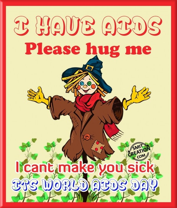 U CAN HUG HIV VICTIMS