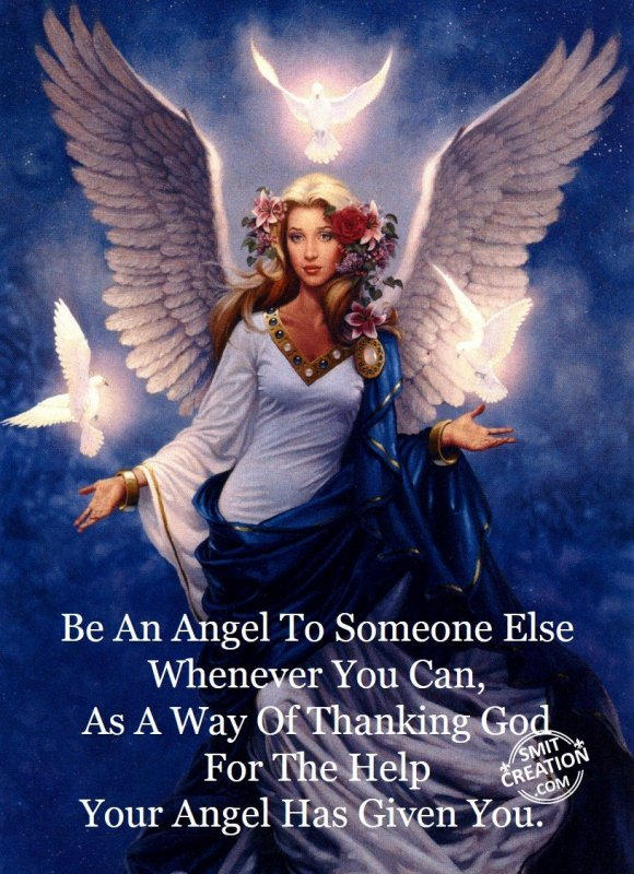 Be An Angel…