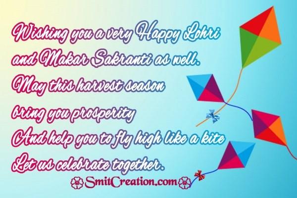 Wishing you a very Happy Lohri  and Makar Sakranti