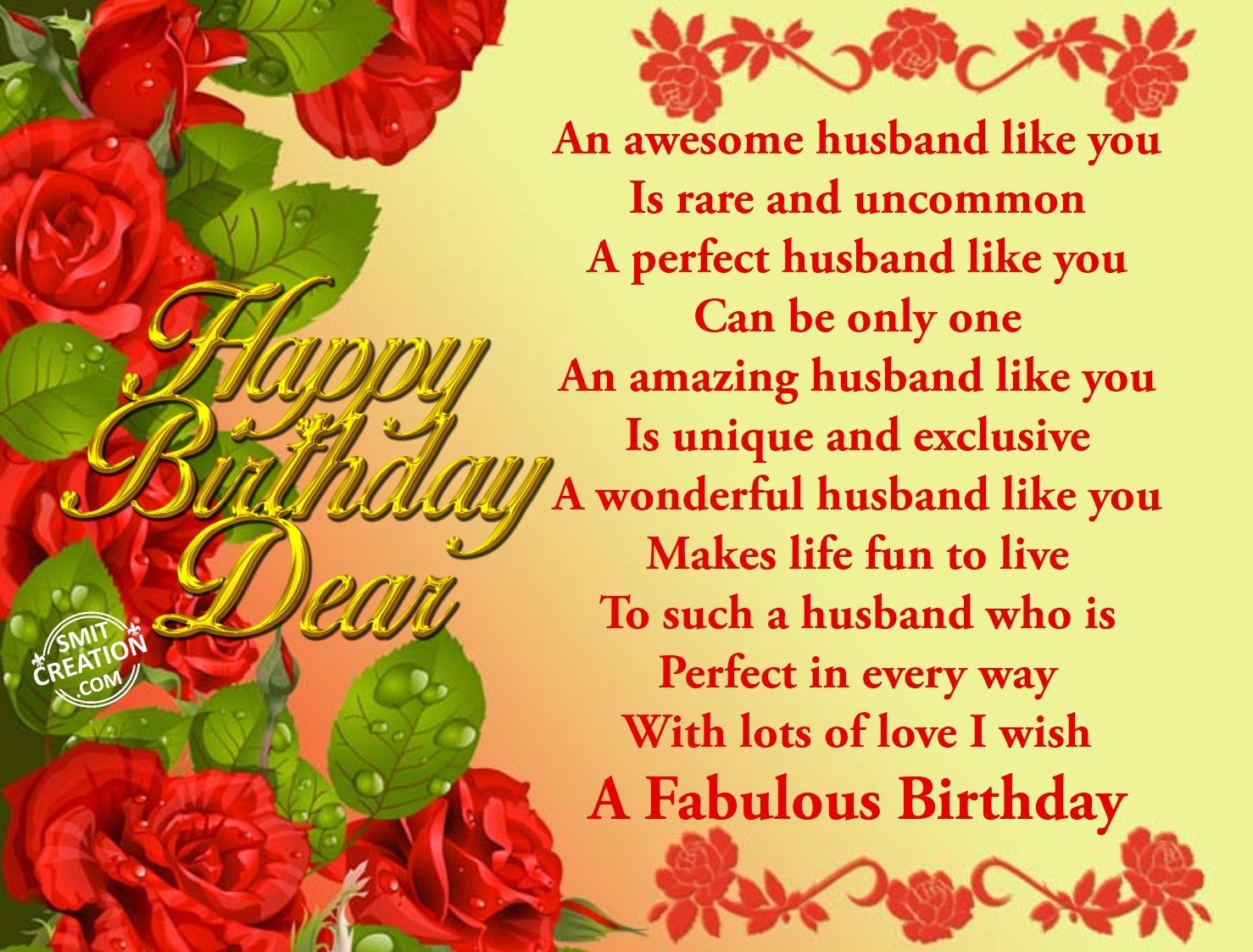 Excellent Birthday Wishes For Husband Pictures And Graphics Smitcreation Valentine Love Quotes Grandhistoriesus