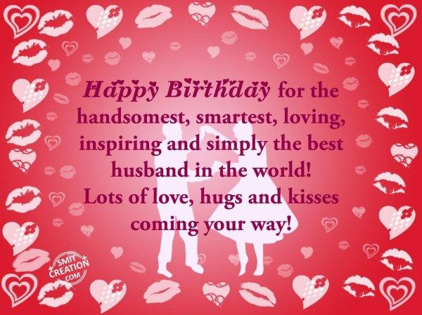 Happy Birthday to Husband!