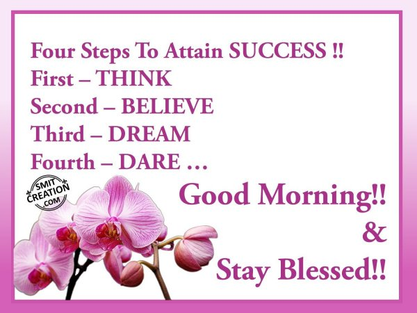 Good Morning & Stay Blessed!!