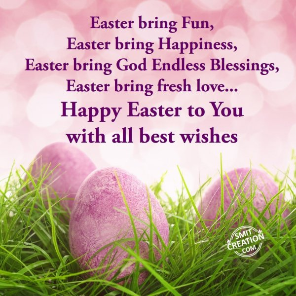 Happy Easter to You