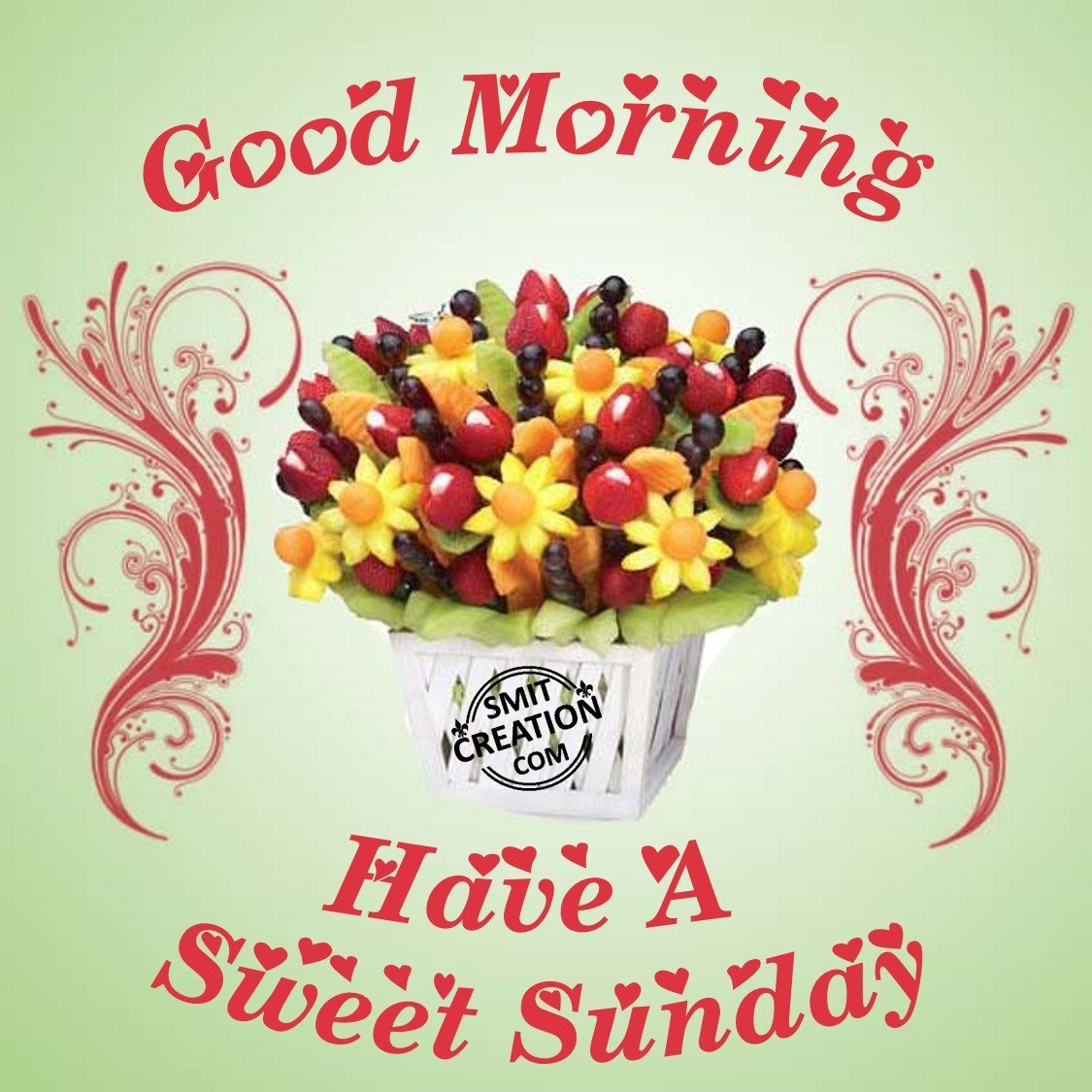 Good Morning And Happy Sunday Text : Good morning have a sweet sunday smitcreation
