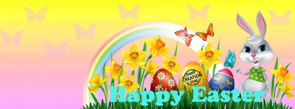Happy Easter- FB COVER