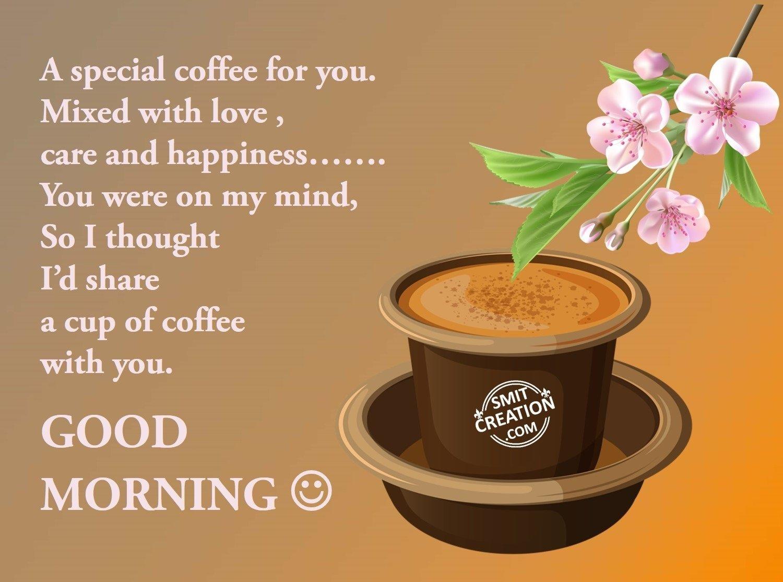 Good Morning My Love Coffee : Good morning smitcreation