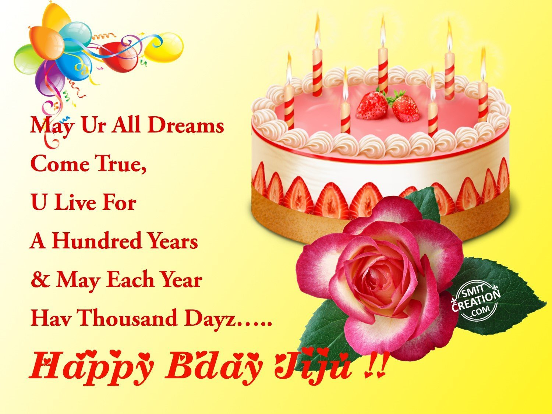Birthday Cake Images For Jiju : Happy Birthday Jiju !! - SmitCreation.com