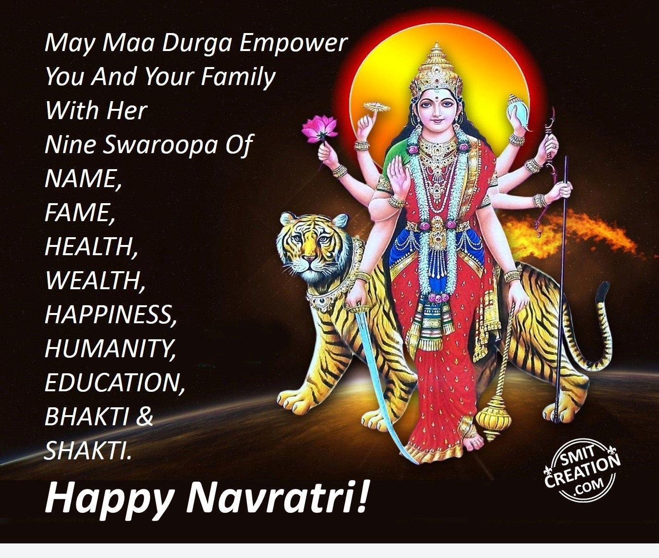 Navratri English Pictures And Graphics Smitcreation