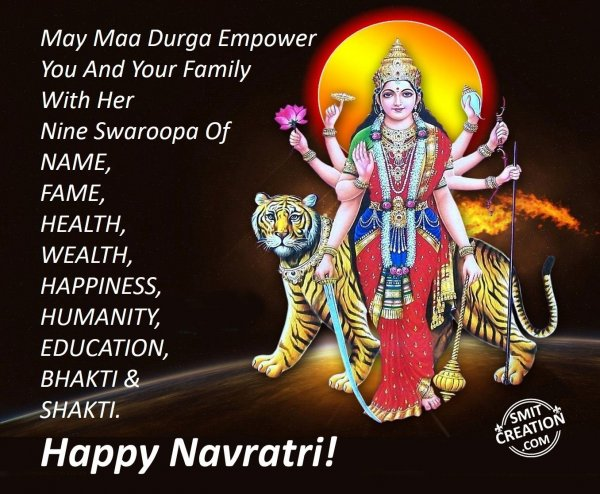 Happy Navratri!