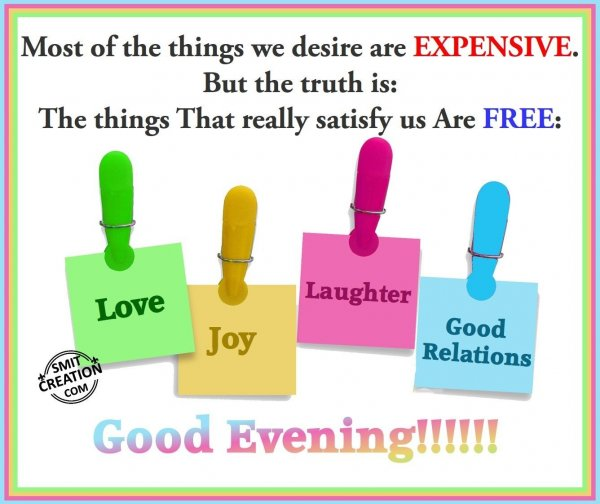Good Evening Inspiration
