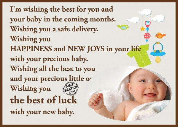 The Best Of Luck For New Baby