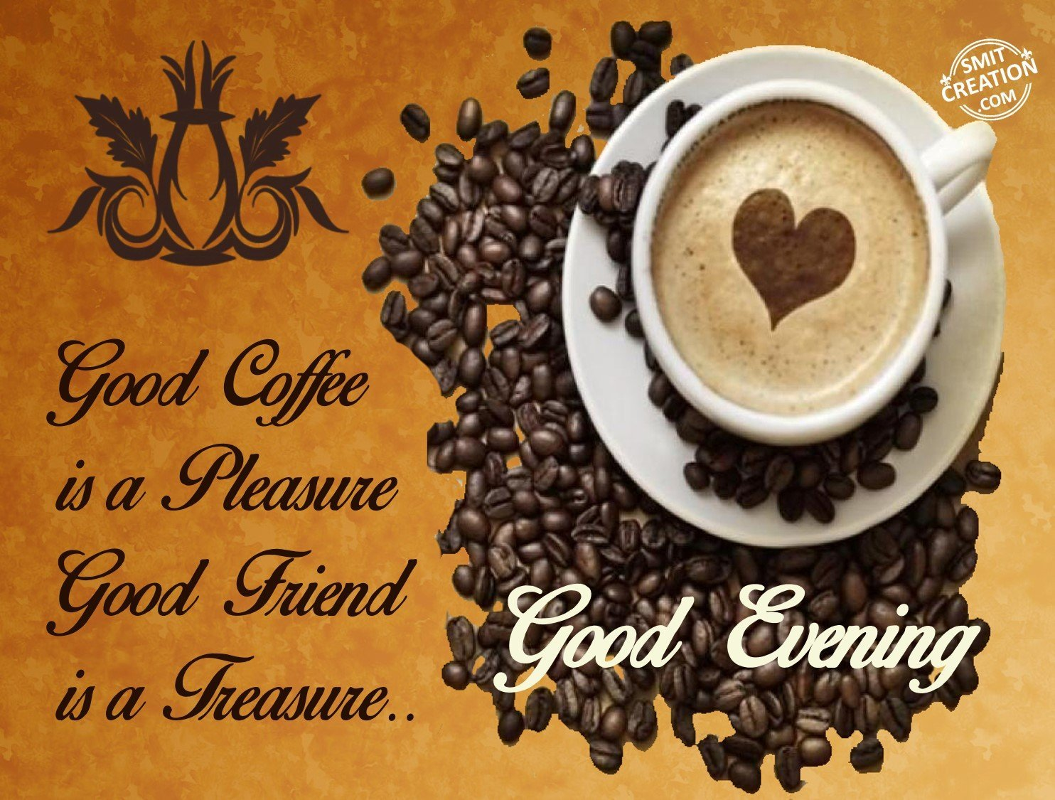 Good Evening Coffee Pictures And Graphics Smitcreationcom
