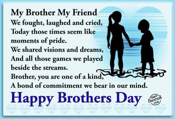 Happy Brothers Day