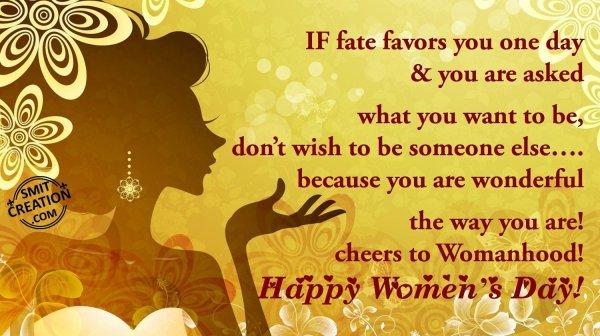 HappyWomen's Day