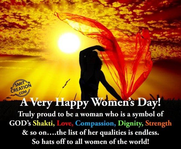 A Very Happy Women's Day!