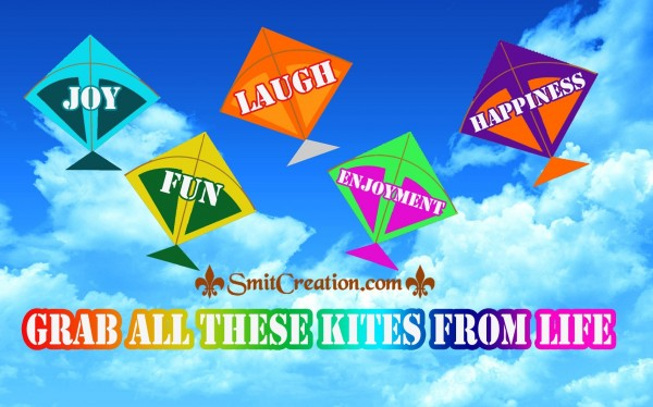 GRAB ALL THESE KITES FROM LIFE