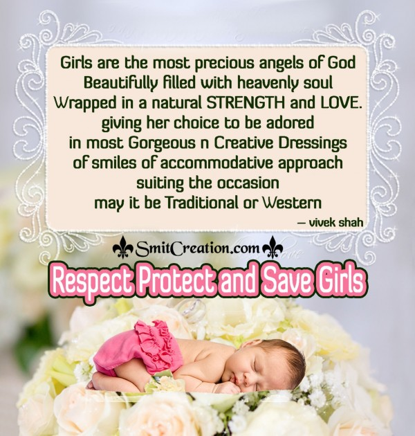 Respect Protect and Save Girls