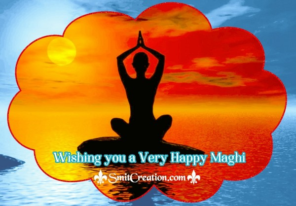 Wishing you a Very happy Maghi