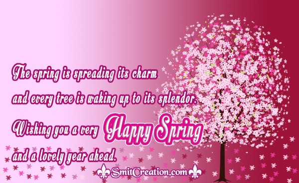 Wishing you a very Happy Spring