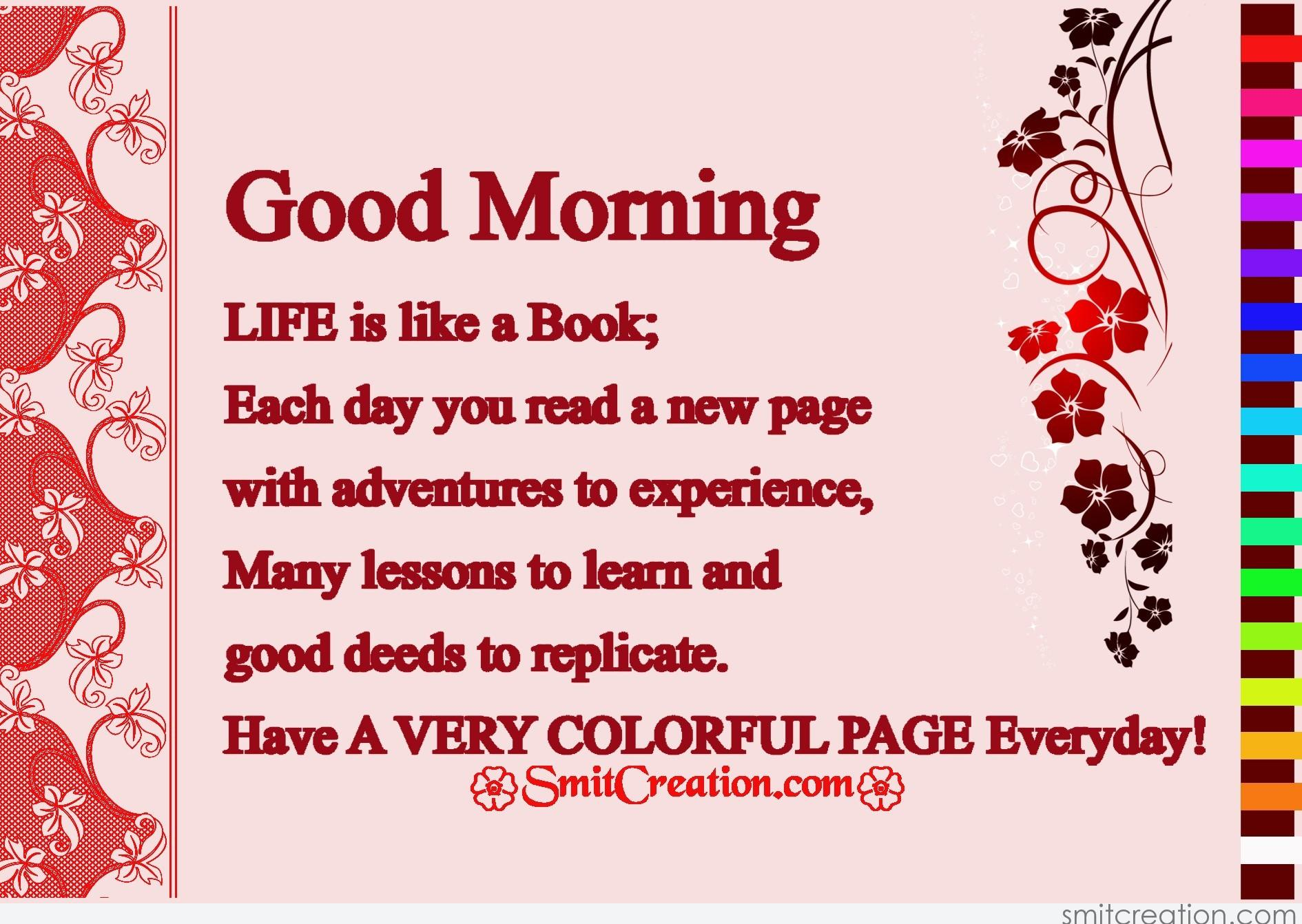 Good Morning Life Pictures And Graphics Smitcreation Com Page 6