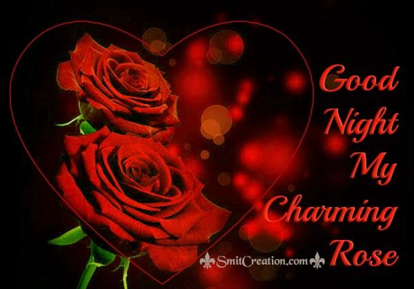 Good Night My Charming Rose