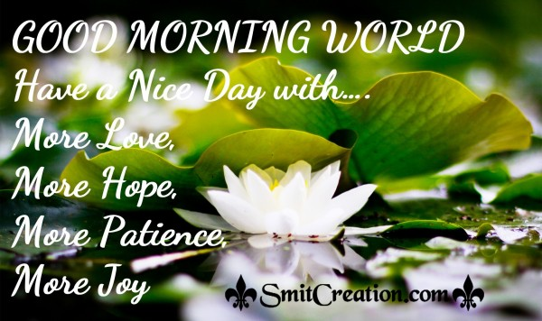 Good Morning Flowers Images With Messages