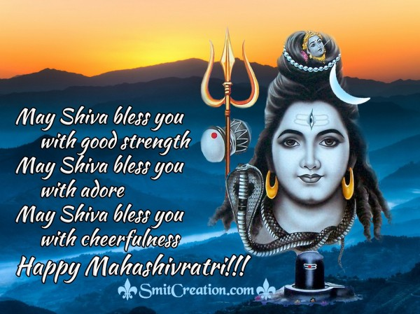 Happy Mahashivratri!!!