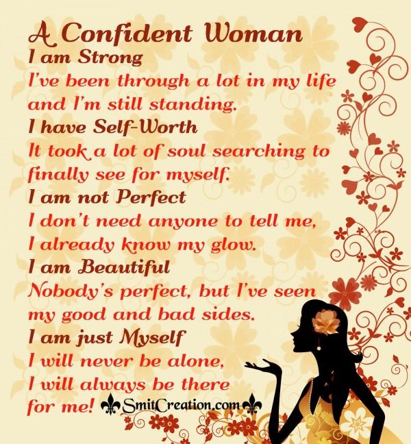 A Confident Woman