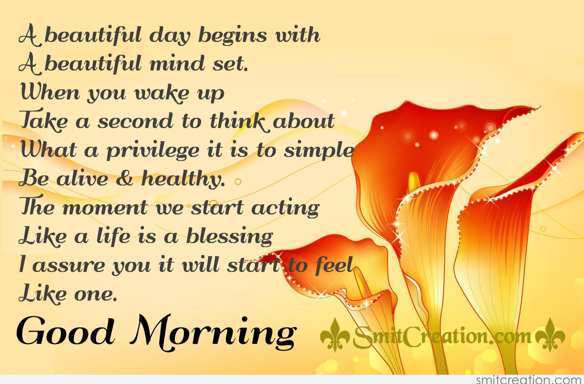 Good Morning Inspirational Quotes Pictures And Graphics