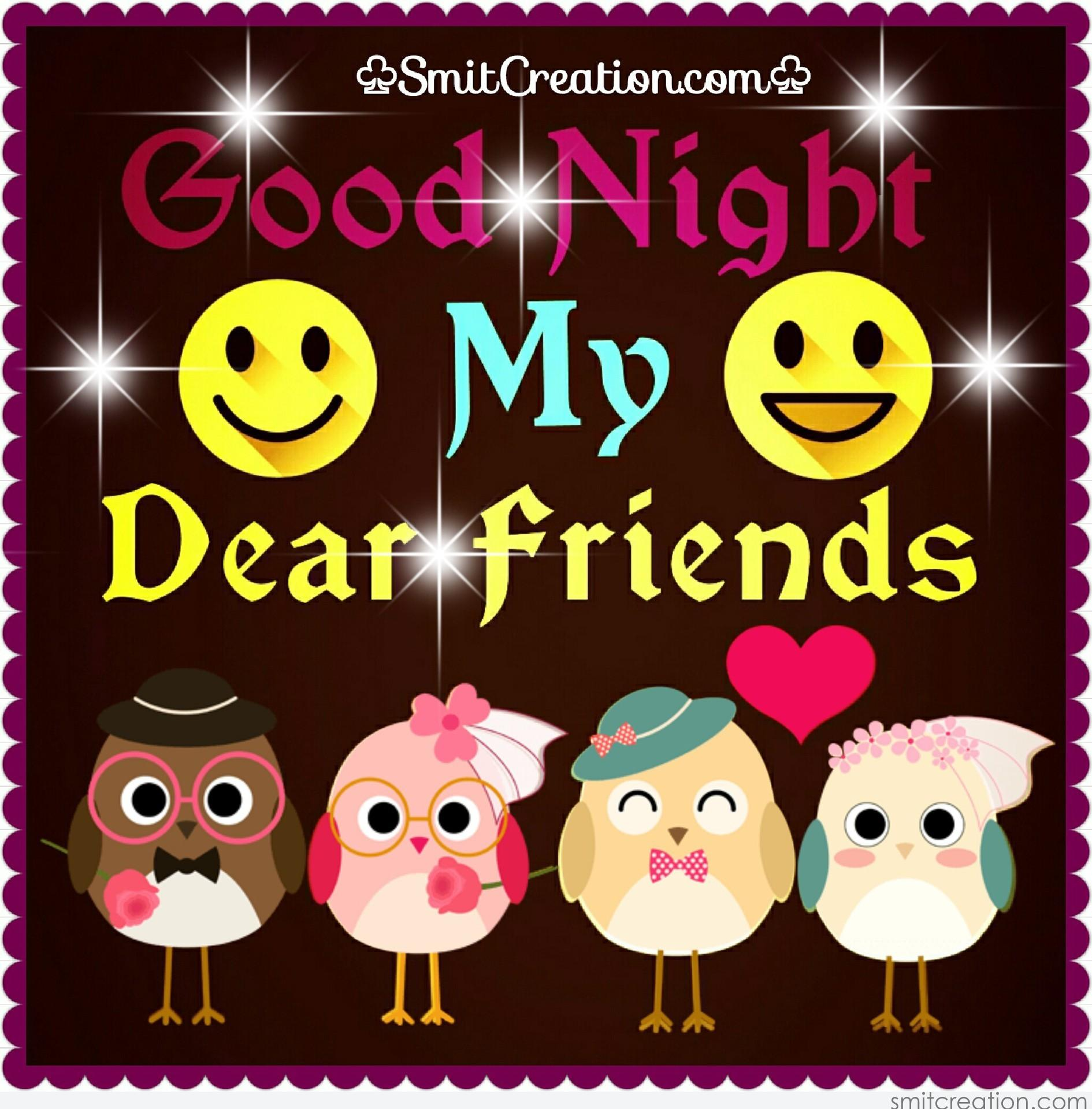 Good Night Friends Pictures And Graphics Smitcreationcom Page 6