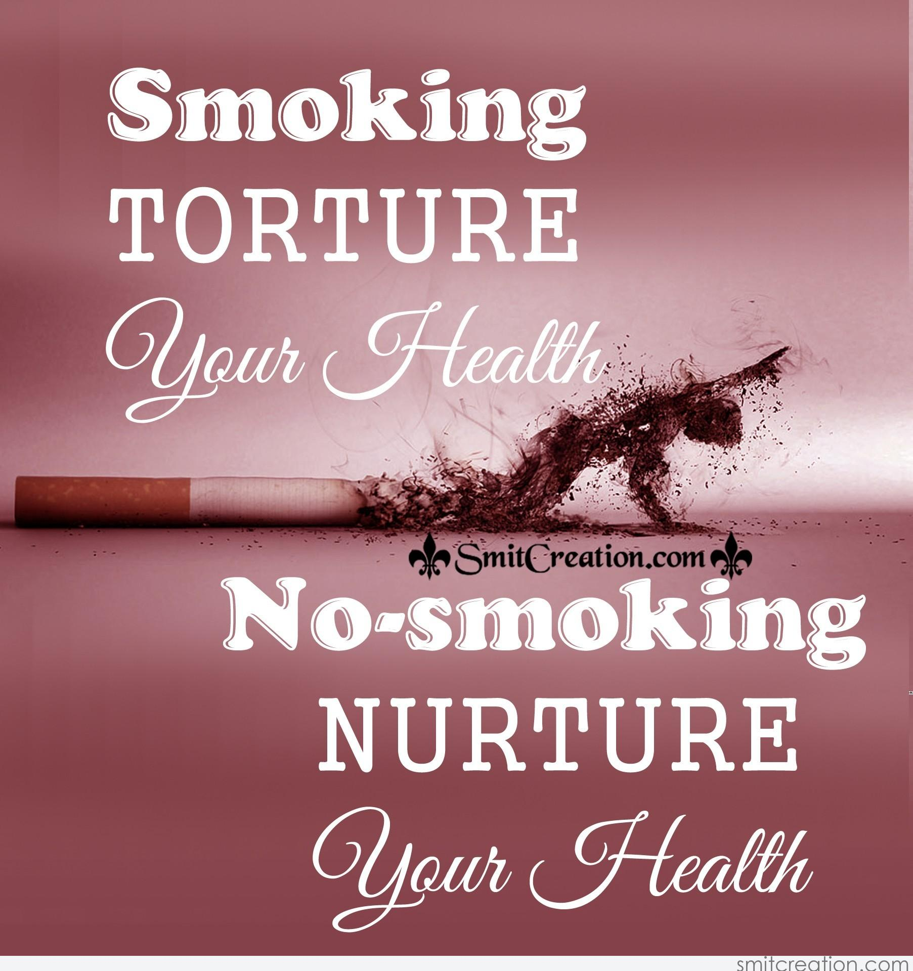 smoking and your health Smoking, drinking, and doing drugs can affect people's lives is your life affected find out here.