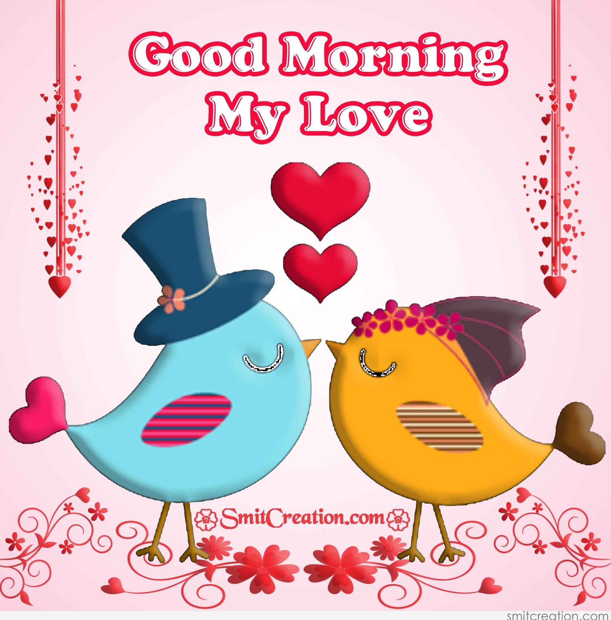 Good Morning My Love Cartoon Images : Good morning my love smitcreation
